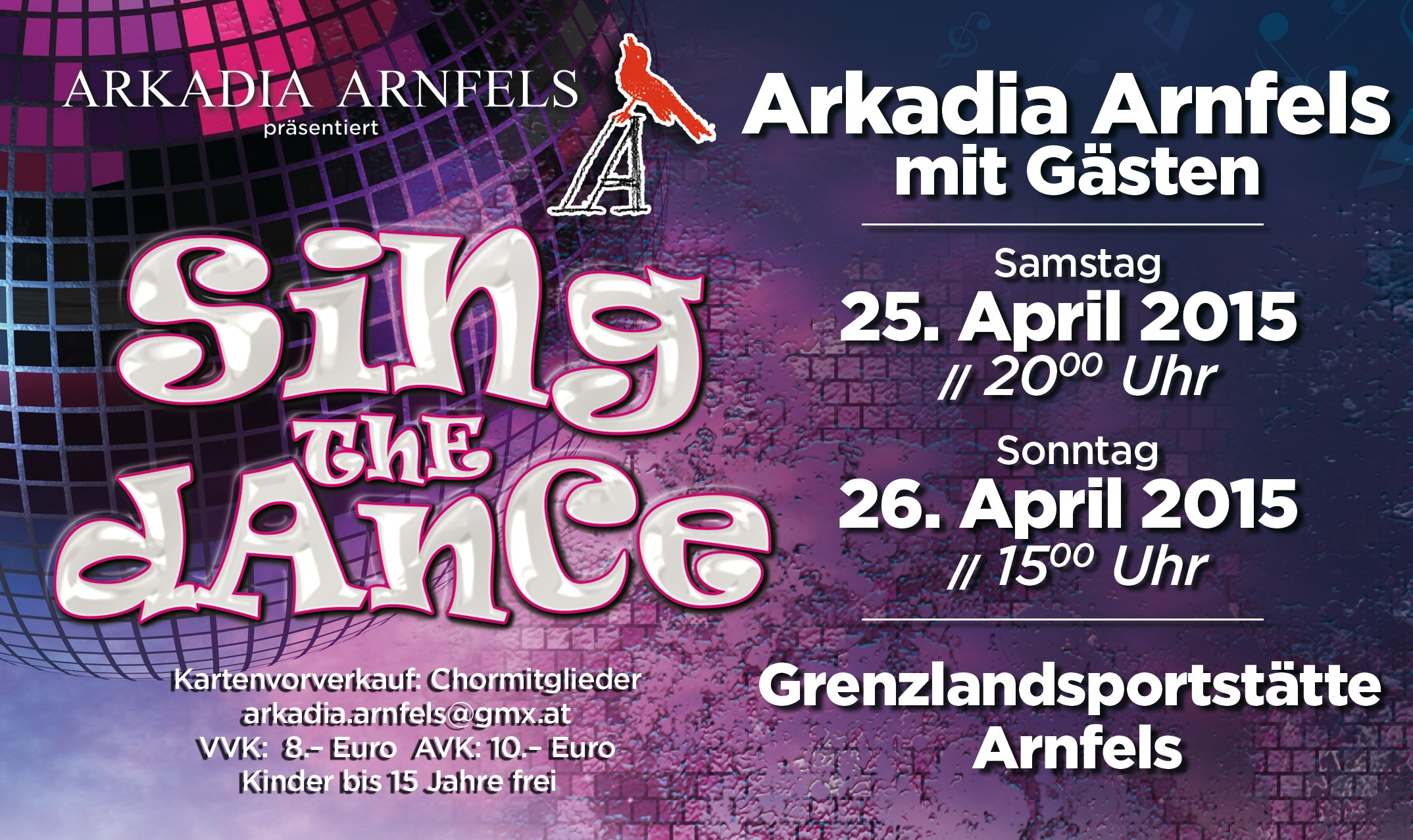 Sing the Dance Plakat ohneW